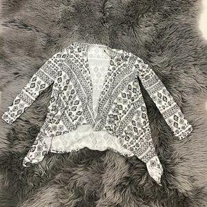 Dex | Girl's Shall | Long Sleeve | Black & White